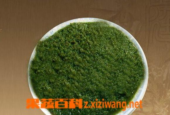 果蔬百科腌制韭菜花酱
